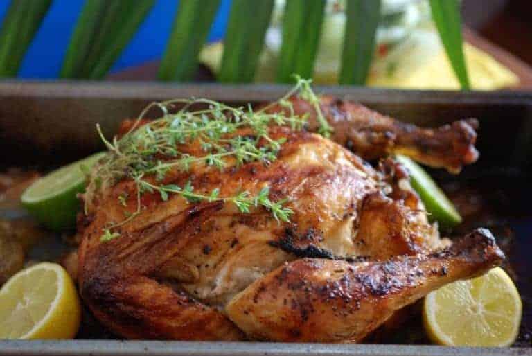 Baked Bajan Chicken