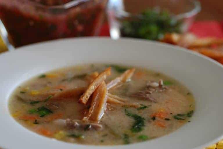 Sopa De Mani (Peanut Soup)