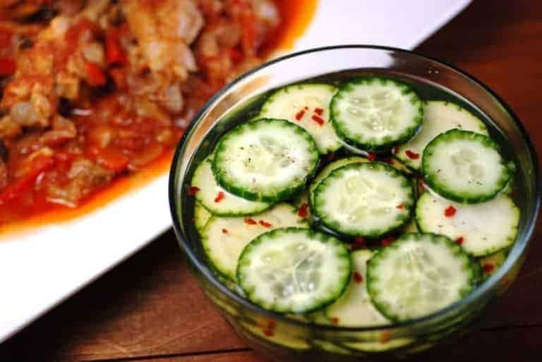 Cote d 39 ivoire cucumber and courgette salad for Abidjan net cuisine