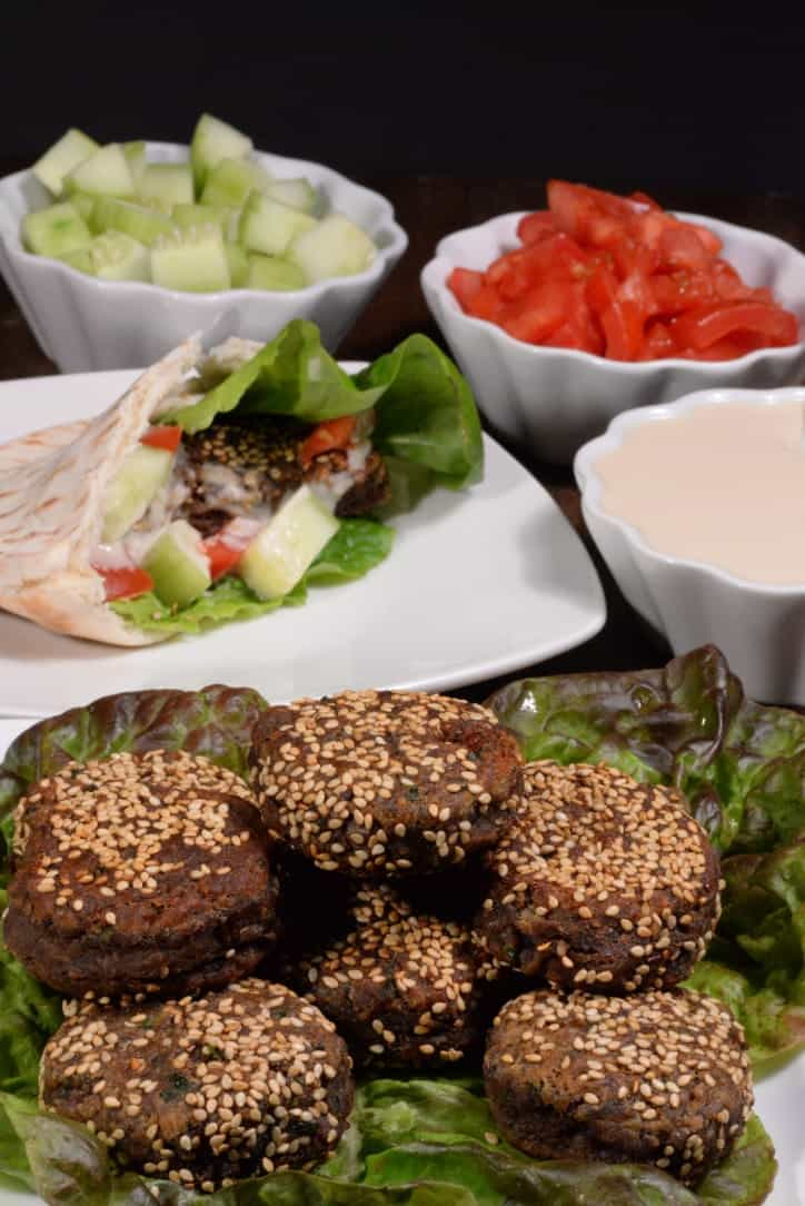 Egypt Ta'amiyas (Fava Bean Falafel) - International Cuisine