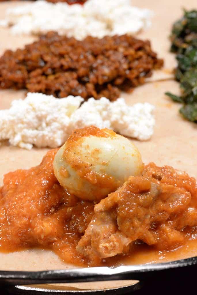 Doro Wat (Spicy Chicken Stew) - International Cuisine