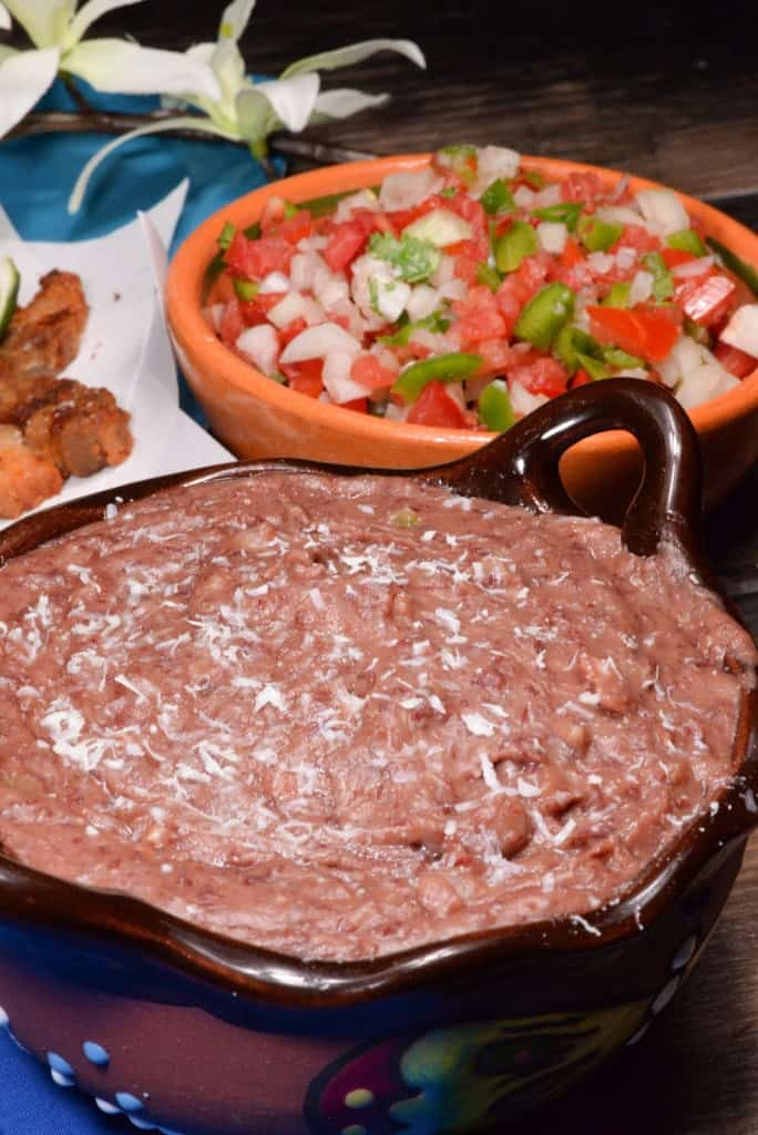 Honduran Frijoles refritos (refried beans) - International Cuisine
