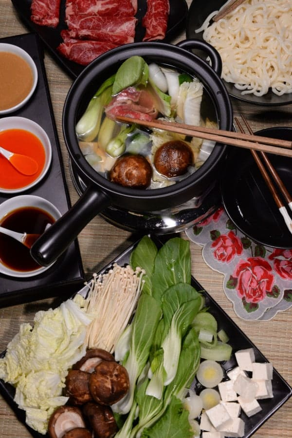 Japanese Shabu-Shabu (Hot Pot) - International Cuisine